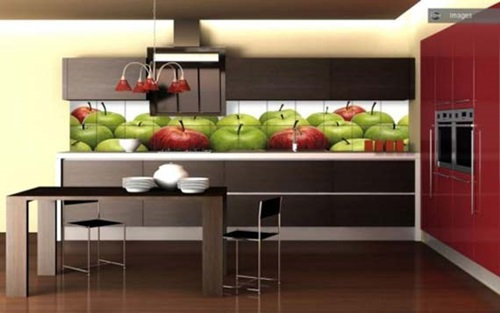 Apple decorations for kitchens interior design for Apples decoration