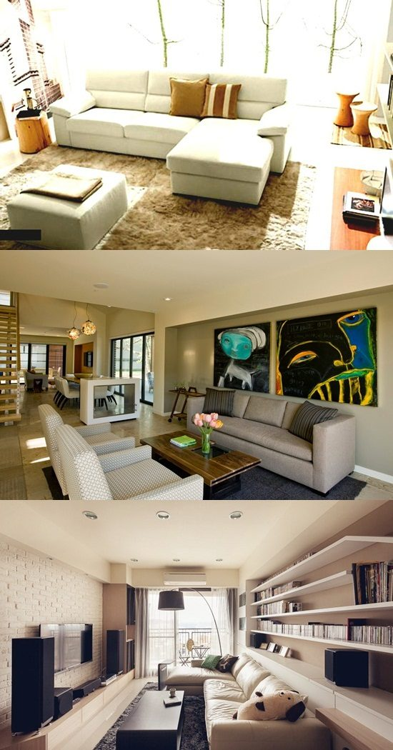 Best living room furniture arrangement interior design for Family room arrangements