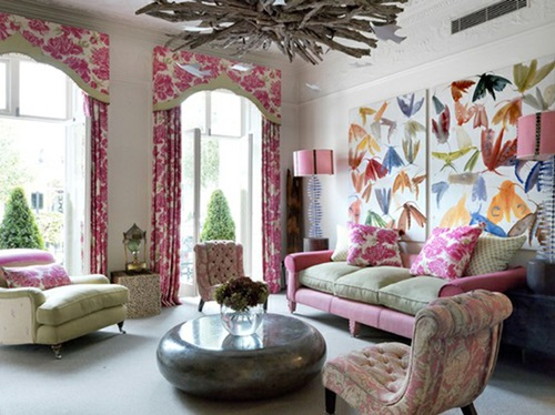 Bright And Colorful Living Room Design Ideas Interior Design