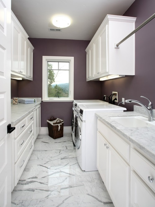 Chic laundry room decorating ideas interior design for Decorate a laundry room