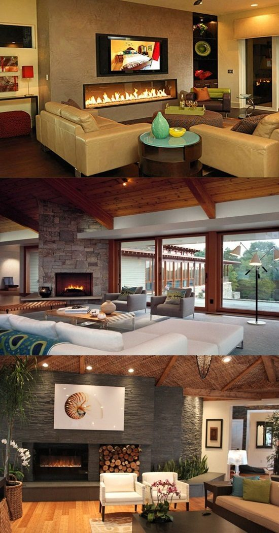 Interior Design Fireplace Living Room: Designing A Living Room With A Fireplace