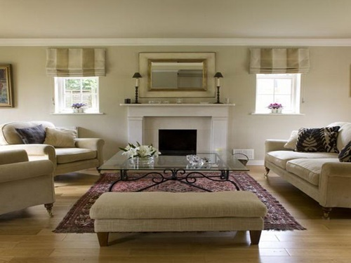 Designing a Living Room with a Fireplace