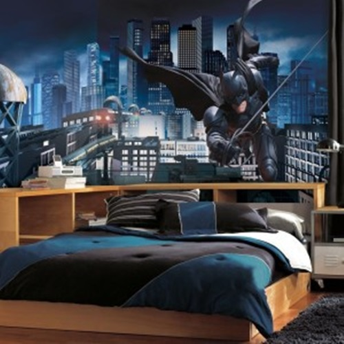 How to Decorate Your Son's Bedroom in a Batman Theme