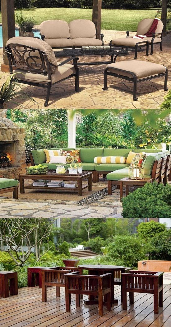 How to choose the right furniture for your veranda for How to pick furniture