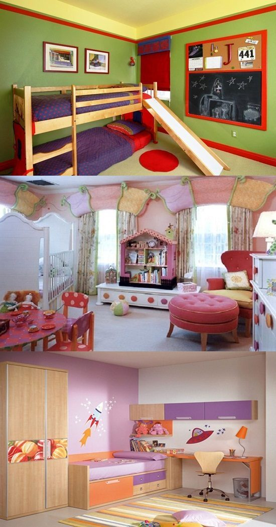 Inexpensive ways to decorate your kid s room interior design for Ways to decorate your room