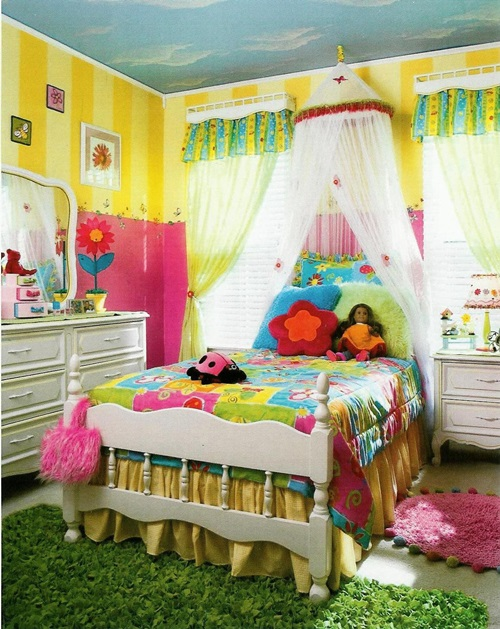 Inexpensive ways to decorate your kid's room