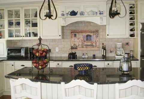 kitchen tile backsplash ideas with white cabinets interior design