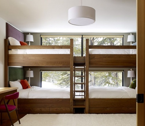 Practical Bunk Beds designs for Kids