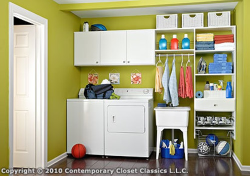 Quick tips for organizing laundry rooms interior design - Laundry room organizing ideas ...