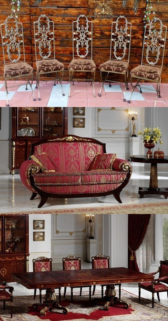 Spanish style furniture and antique furniture