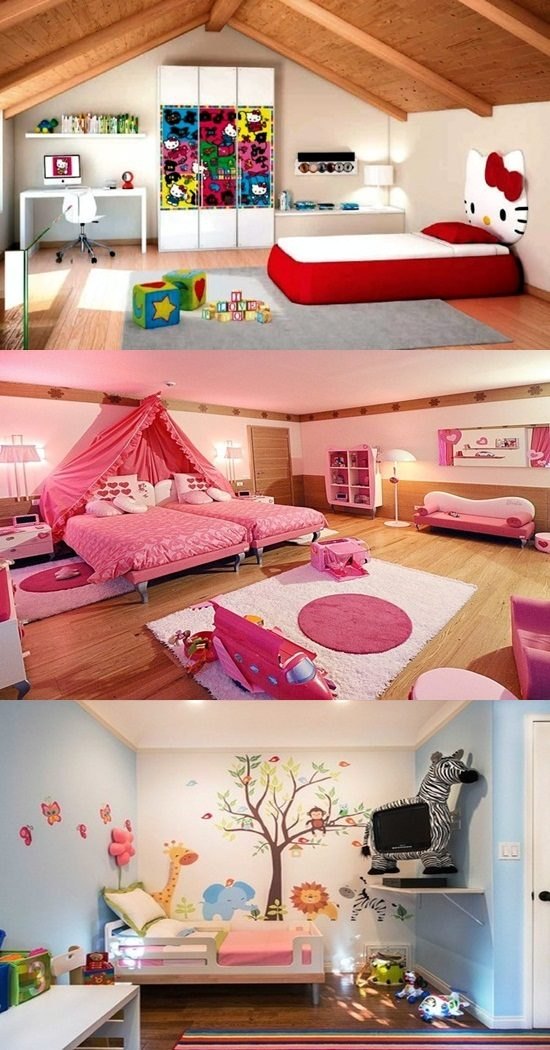 Sweet barbie room decoration ideas interior design for Decoration barbie