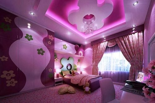 Sweet barbie room decoration ideas interior design for Sweet bedroom designs