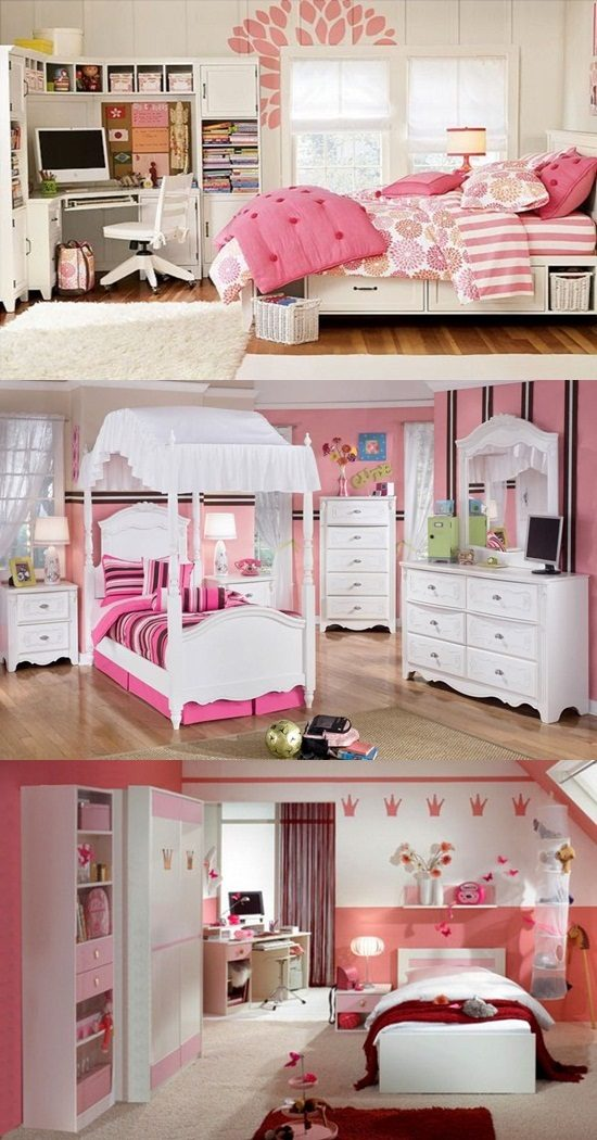 Types of Chairs for Bedrooms Girls' Bedrooms Interior