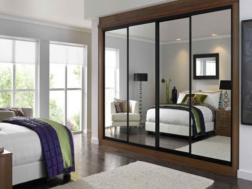 types of mirrored furniture for your bedroom - interior design