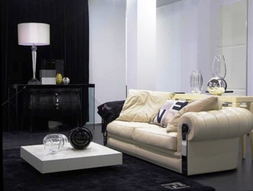 Black And White Living Room interior design ideas