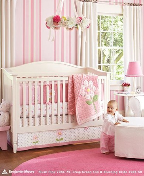 Cool baby room decorating ideas interior design - Baby girl room decor pictures ...