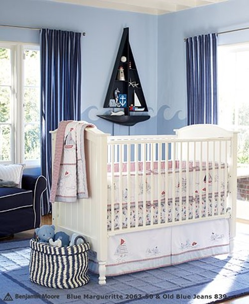Cool baby room decorating ideas interior design for Baby boy bedroom decoration