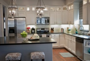 Decorating Ideas for Kitchen with white cabinets