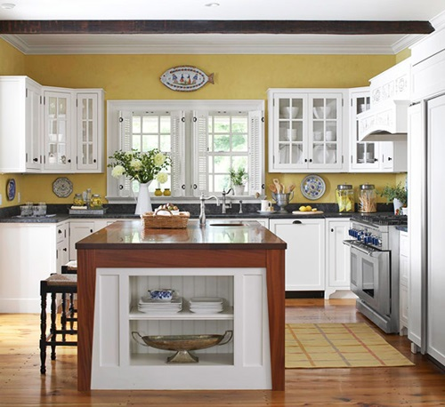 Fitted Kitchen Interior Designs Ideas Kitchen Cabinet: Decorating Ideas For Kitchen With White Cabinets