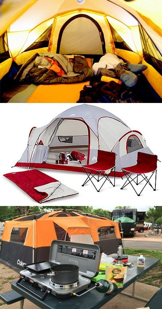Essential Camping gear and supplies