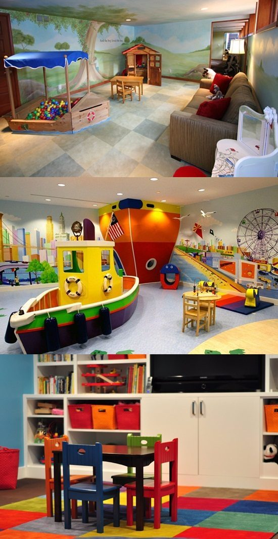 Fun Furniture for kids' playroom