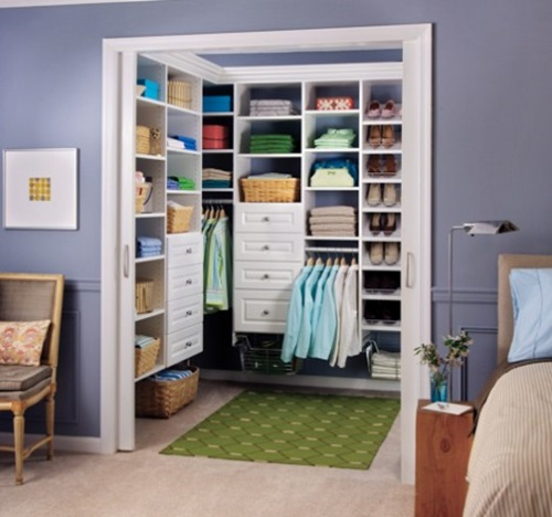 ... Great Ideas For Multifunctional Master Bedroom Closets ...