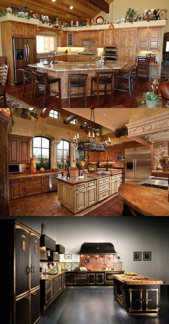 Italian style kitchen design ideas