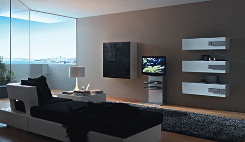 Contemporary Wall Unit contemporary wall unit designs for living room