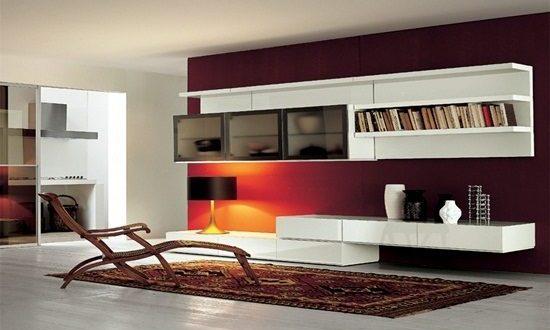 Modern Living Room Wall Units designs