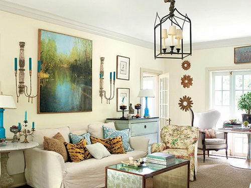 Tips on choosing paint colors for the living room - Interior design tips living room ...