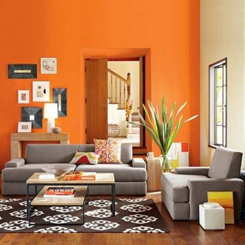 Tips on choosing paint colors for the living room for Pinturas para salas modernas