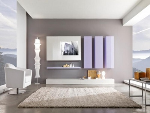 Tips on choosing paint colors for the living room - Interior paint ideas for small rooms ...