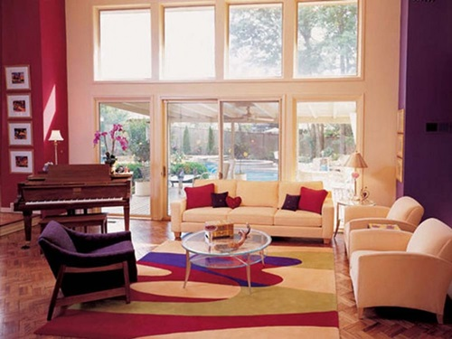 good choosing a paint color for living room use two types