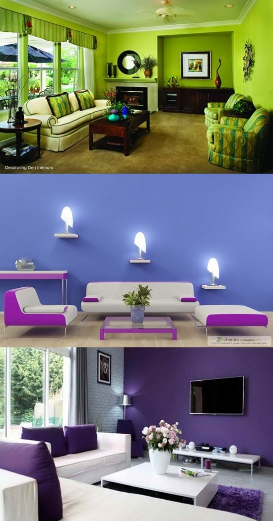 Tips on choosing paint colors for the living room interior design for What color should you paint your living room