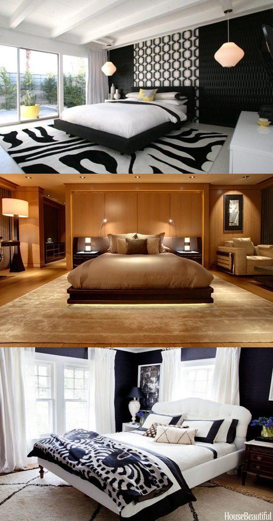 Unique ideas for decorating a bedroom