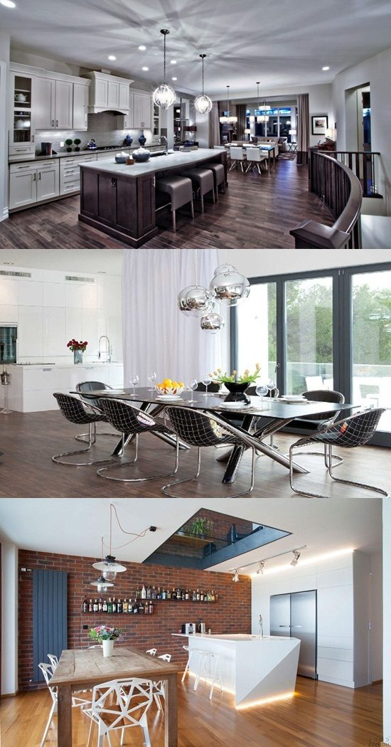 Kitchen Dining Interior Design: Amazing Lighting Ideas For The Kitchen And Dining Area
