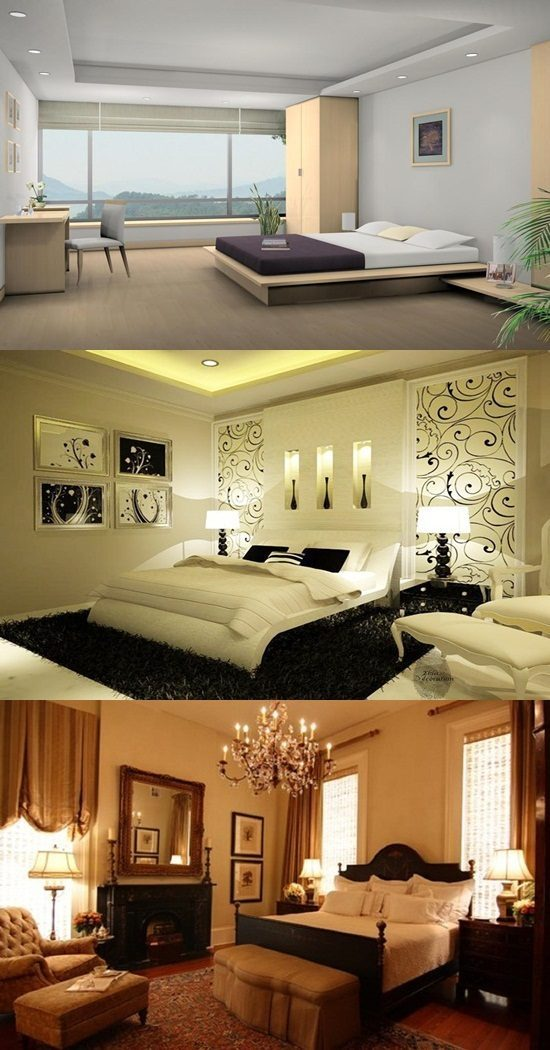 Amazing ideas to decorate a master bedroom - Interior design