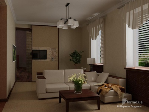 Apartment Decor Large Open Living Room