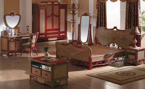 Benefits of using wicker bedroom furniture