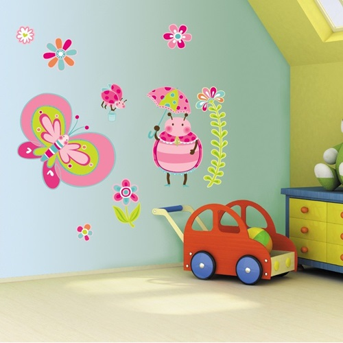 cool wall stickers for a kid s room decoration interior cool wall stickers big map by artollo