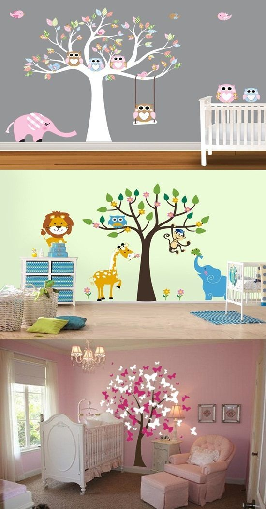 cool wall stickers for a kid s room decoration interior cool wall stickers world map by artollo