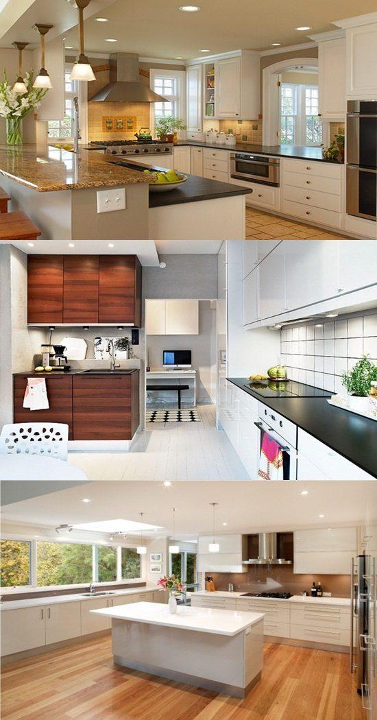 Creative small kitchen designs ideas interior design for Clever small kitchen ideas