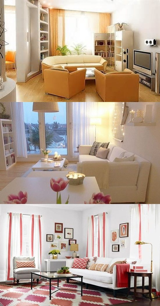 Interior Design For Living Room For Small Space: Extravagant Small Living Room Design Tips