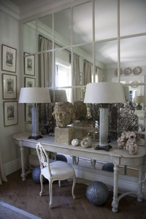 Fabulous mirror room dividers