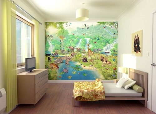How to Create a Jungle Themed playroom. How to Create a Jungle Themed playroom   Interior design