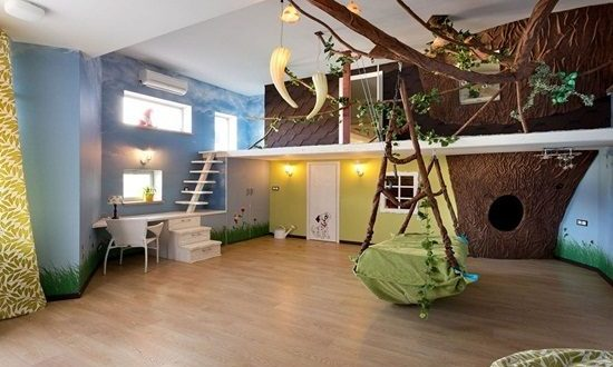 How To Create A Jungle Themed Playroom