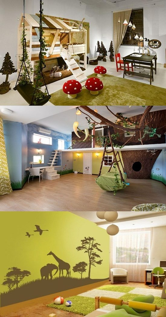 How To Create A Jungle Themed Playroom Interior Design