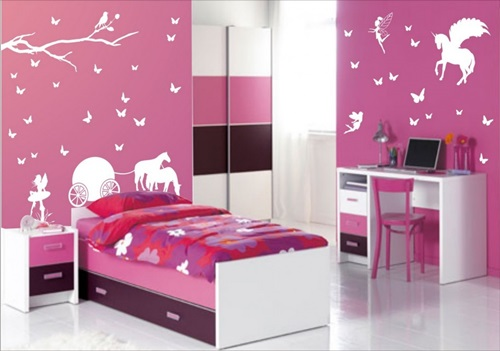 lovely teenage girls bedroom decorating ideas - Girls Bedroom Decorating Ideas