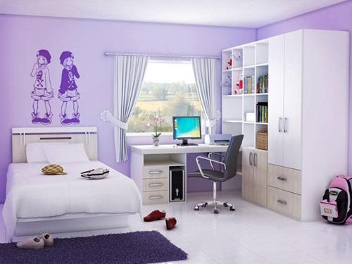 Lovely Teenage Girls Bedroom Decorating Ideas - Interior Design