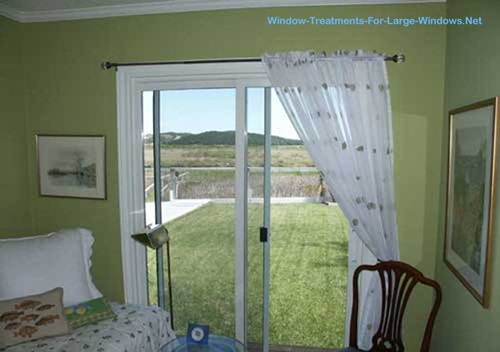 Sliding Door Window Treatments Curtains - Best Curtains 2017